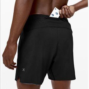 Lululemon Surge 6inch inseam shorts